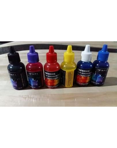 Dye for resin