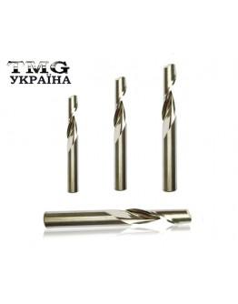 Single flute end mill for aluminum 3,175х15х38