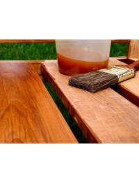 Oil wax for wood