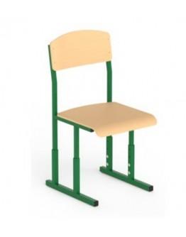 Металлический каркас стула ученического с регулировкой по высоте