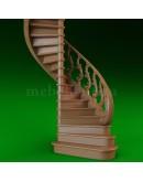 3D модель, лестница.